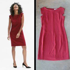 MM Lafleur The Sarah Dress in Pomegranate 6